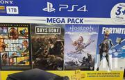 Sony Playstation 4 1tb Mega Pack Bundle | Video Game Consoles for sale in Nairobi, Nairobi Central