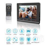 """7"""" Monitor Video Doorbell Camera Intercom System Kit With Dual-way Rin 