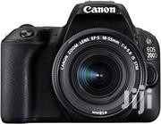 Canon EOS 200D Rebel SL2 Kit With EF-S 18-55mm F/4-5.6 Is STM Lens | Photo & Video Cameras for sale in Nairobi, Karen