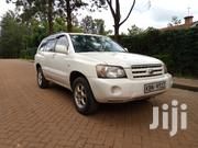 Toyota Kluger 2005 White | Cars for sale in Nairobi, Kahawa West