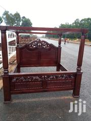 6×6 Flowered Poster Bed | Furniture for sale in Nairobi, Ngando