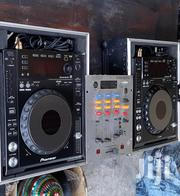 2 Pioneer 850 Dj Players Beringer 3 Chanel Mixer Clean | Audio & Music Equipment for sale in Mombasa, Bamburi