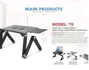 Laptop Stand Adjustable Laptop Desk With Mouse Pad | Computer Accessories  for sale in Nairobi, Nairobi Central