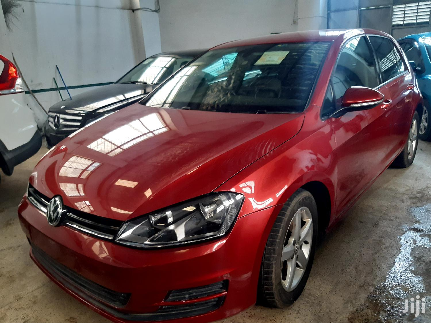 Volkswagen Golf 2013 Red | Cars for sale in Shimanzi/Ganjoni, Mombasa, Kenya