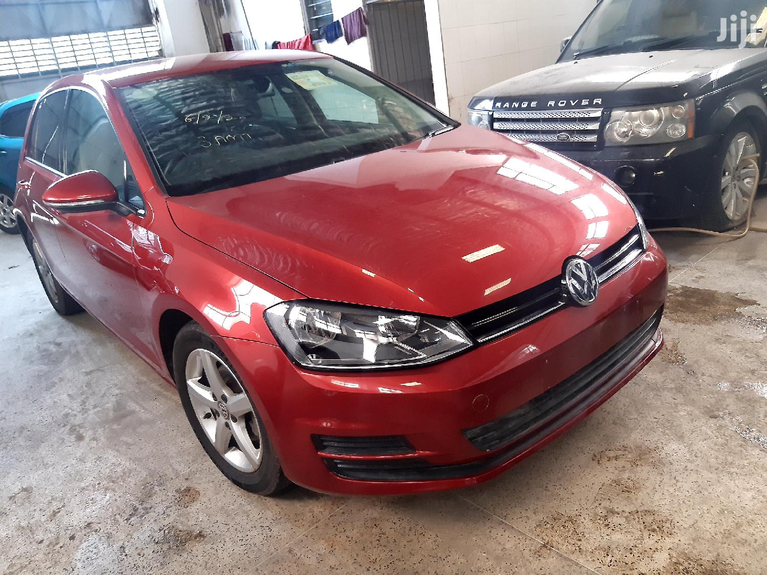 Volkswagen Golf 2013 Red