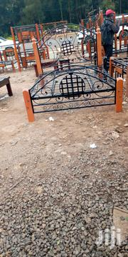 Metal N Wood Bed | Furniture for sale in Nairobi, Ngando