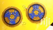 Light Gold Fine Beads Masaai Ladies Round Earrings   Jewelry for sale in Nairobi, Nairobi Central