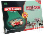2in 1 Scrabble And Monopoly | Books & Games for sale in Nairobi, Ngara