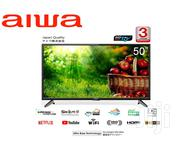 Aiwa 50 Inches Android Smart 4k Model Ju50ds180s (Japan ) | TV & DVD Equipment for sale in Nairobi, Nairobi Central