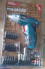 Portable Cordless Drill With Accessories | Electrical Tools for sale in Nairobi, Nairobi Central