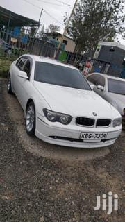 BMW 7 Series 2003 White | Cars for sale in Nairobi, Nairobi South