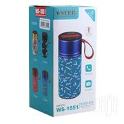 Wster Ws-1851 Bluetooth Speaker | Audio & Music Equipment for sale in Nairobi, Nairobi Central