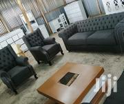 3 Seater Chesterfield With Two Wingback Chairs | Furniture for sale in Nairobi, Ngara