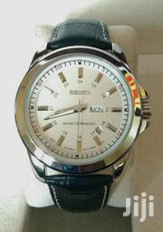 Seiko Male Watches With Durable Leather Strap at 3500ksh. | Watches for sale in Nairobi, Nairobi Central