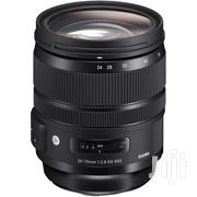 Sigma 24-70mm F2.8 DG OS HSM Art Lens For Canon EF | Accessories & Supplies for Electronics for sale in Nairobi, Nairobi Central