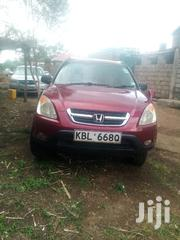 Honda CR-V 2004 EX 4WD Automatic Red | Cars for sale in Nairobi, Kahawa West