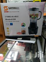 Sayona Blender 2 in 1 With Grinder | Kitchen Appliances for sale in Nairobi, Nairobi Central