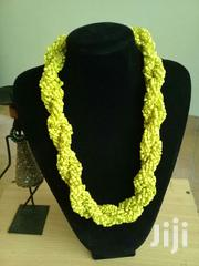 Yellow Beaded Twist Necklace | Jewelry for sale in Mombasa, Tononoka