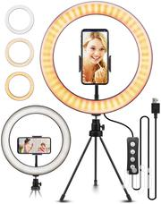 10 Inch Ring Light Phone Holder And A Remote Smalltripod | Accessories & Supplies for Electronics for sale in Nairobi, Nairobi Central