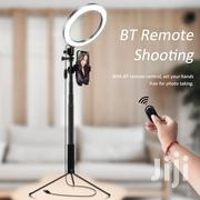 "8"" Selfie Ring Light With Tripod Stand & Cell Phone Holder 