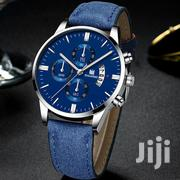 Men Leather Watches Calendar Quartz Watches Business Casual Watch For | Watches for sale in Nairobi, Nairobi Central