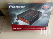 Pioneer GM-A3702 1/2 Channel 500W Bridgeable Amplifier | Vehicle Parts & Accessories for sale in Nairobi, Nairobi Central