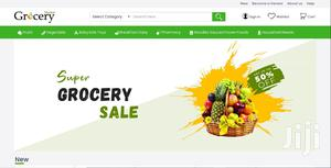 Food And Grocery Delivery System With Mobile App