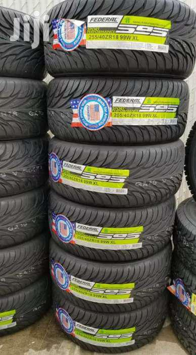 255/40/18 Federal Tyre's Is Made In China