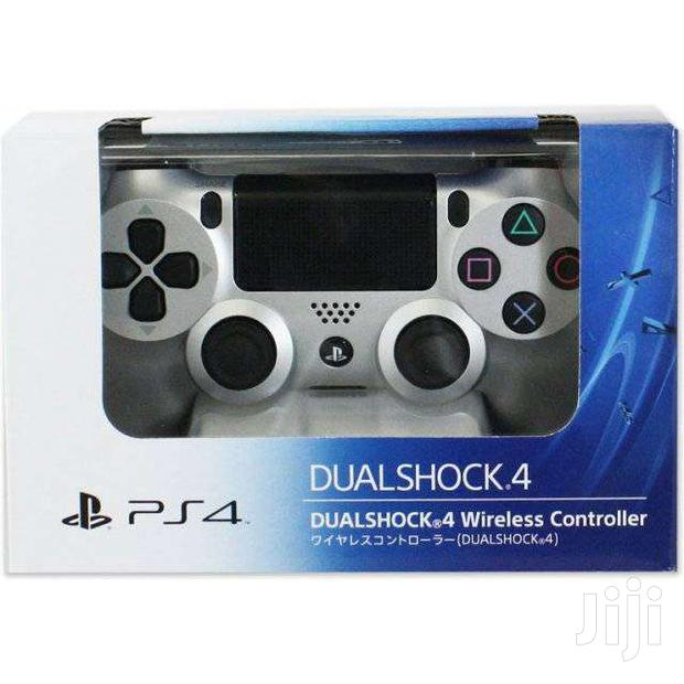 Silver Ps4 Pad New